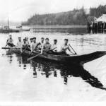 tlawitsis men canoe team